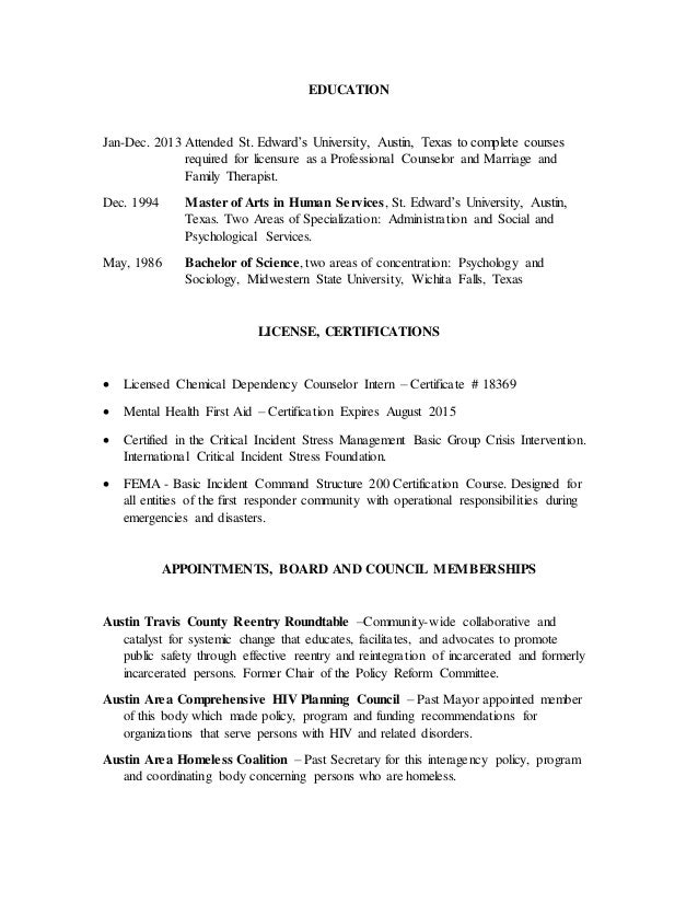 Resume Rgibson June 2015