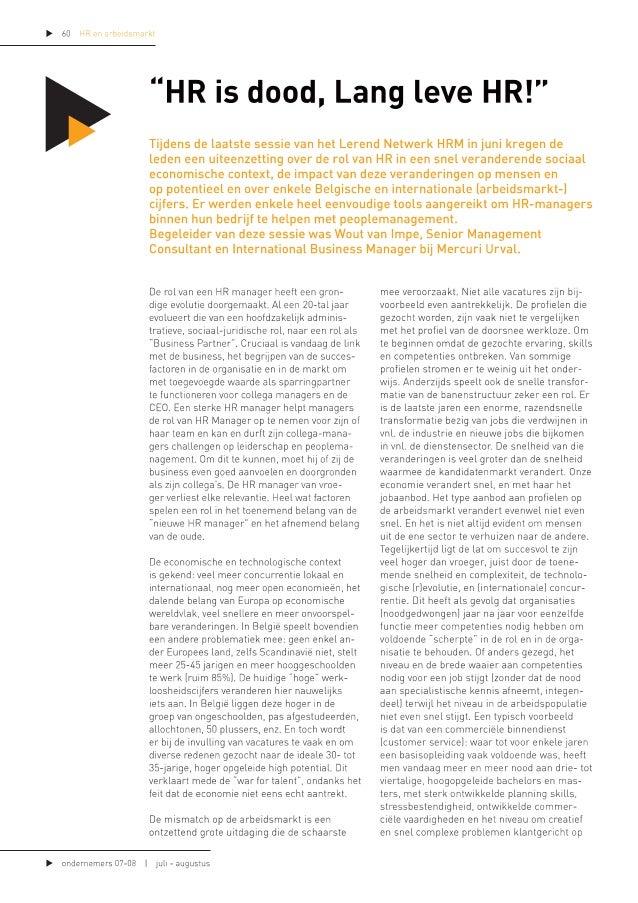 Artikel Wout Van Impe Ondernemen Voka Leuven