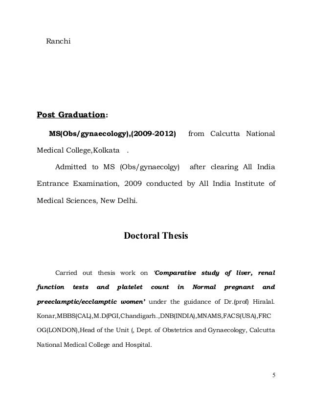 Dnb radiology thesis