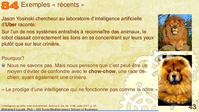 Mohamed Louadi, PhD – ISG-Tunis/Mediterranean School of Business 43 Jason Yosinski chercheur au laboratoire d'intelligence...