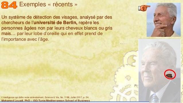 Mohamed Louadi, PhD – ISG-Tunis/Mediterranean School of Business 44 Un système de détection des visages, analysé par des c...