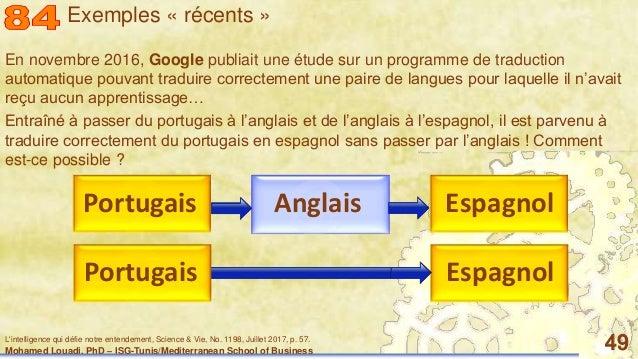 Mohamed Louadi, PhD – ISG-Tunis/Mediterranean School of Business 49 En novembre 2016, Google publiait une étude sur un pro...