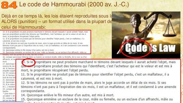 Mohamed Louadi, PhD – ISG-Tunis/Mediterranean School of Business 7 Déjà en ce temps là, les lois étaient reproduites sous ...