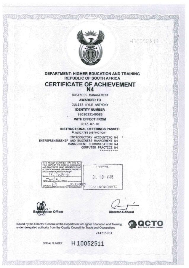 Business Management N4-N6