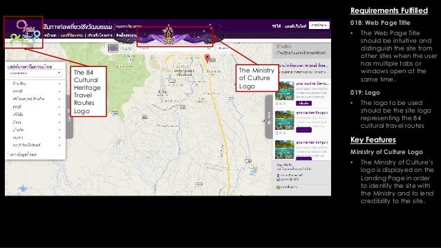 84 Cultural Heritage Travel Routes Web Site