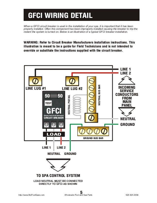 pool light gfci wiring diagram   30 wiring diagram images
