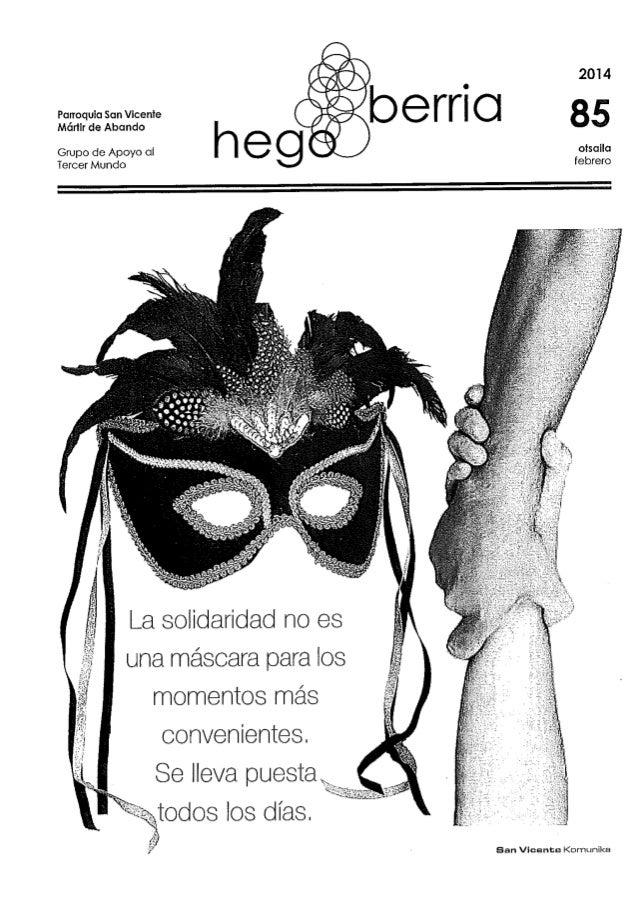 HegoBerriak 85 . febrero 2014