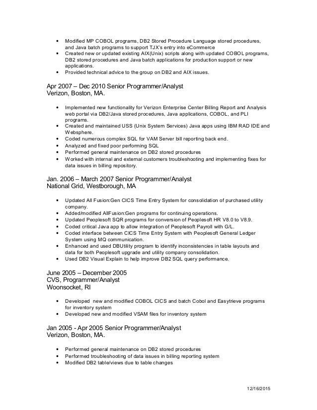 resume - erf