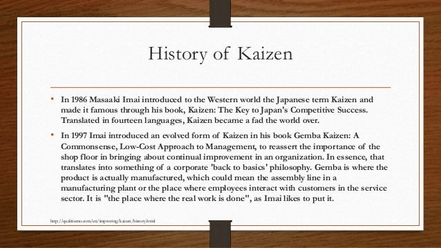 gemba kaizen a commonsense approach pdf