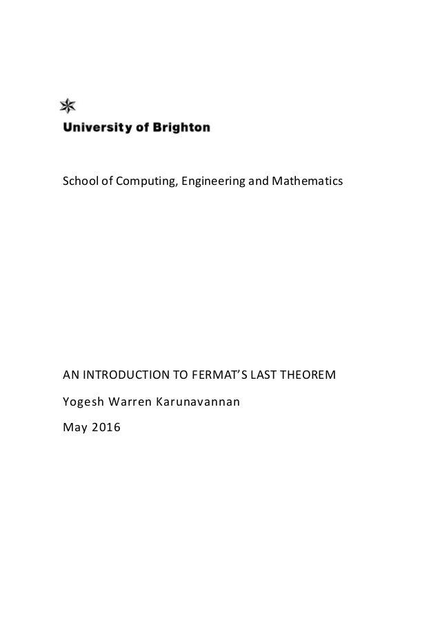 fermats last theorem documentary