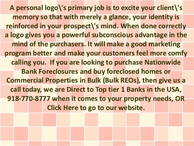 A personal logos primary job is to excite your clients   memory so that with merely a glance, your identity isreinforced i...
