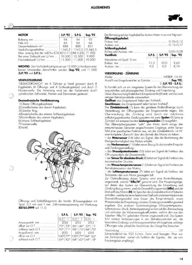 Ducati 851,888SP,SPS '92 service manual (91470071C)