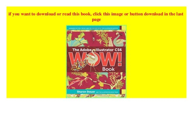 Illustrator Cs6 Wow Book