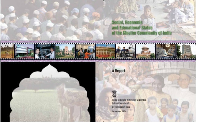 A ReportPrime Minister's High Level CommitteeCabinet SecretariatGovernment of IndiaNovember, 2006