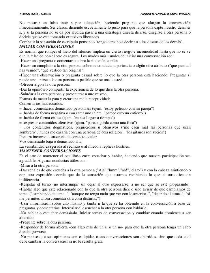Psicología - UMSA                                                         Heberth Ronald Mita YonimaNo mostrar un falso in...