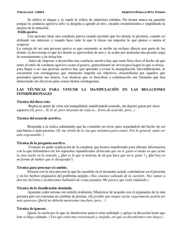 Psicología - UMSA                                                        Heberth Ronald Mita Yonima        Se utiliza el a...