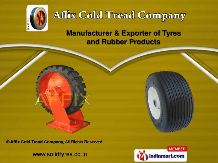 Manufacturer & Exporter of Tyres     and Rubber Products