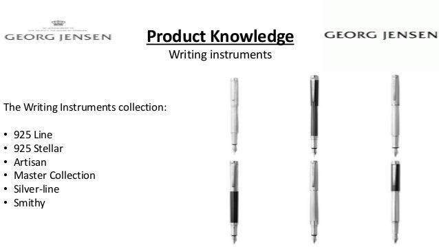 Georg Jensen Master Fountain Pen