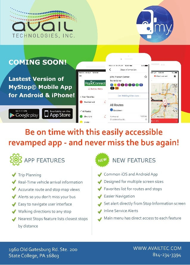 Mystop app slick sheet new for Sales slick template