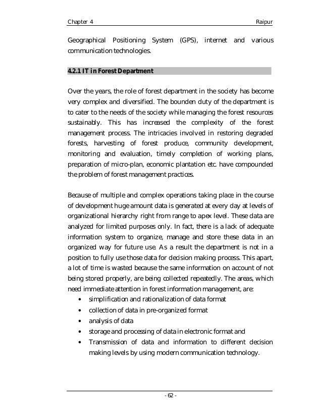 Chhattisgarh - Field Work Report
