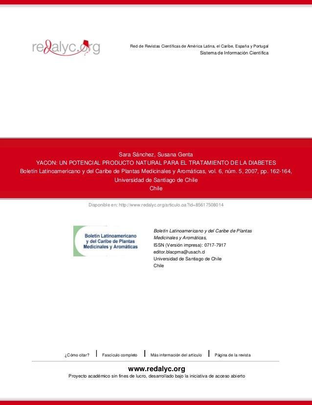 Disponible en: http://www.redalyc.org/articulo.oa?id=85617508014 Red de Revistas Científicas de América Latina, el Caribe,...