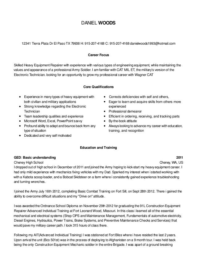 Career Focus On Resume Nmdnconference Example Resume And