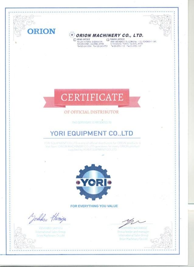 Distributor certificate altavistaventures Choice Image