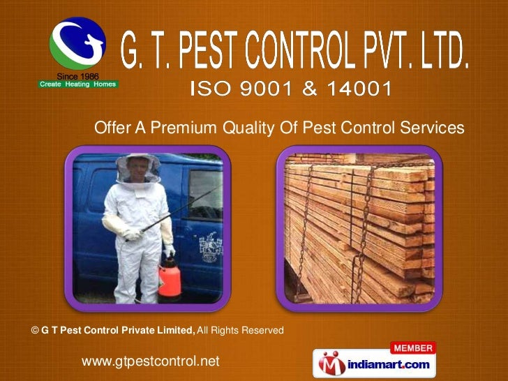 Offer A Premium Quality Of Pest Control Services© G T Pest Control Private Limited, All Rights Reserved          www.gtpes...
