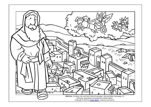 Coloring Page Cities Of The Bible The City Of Dothan