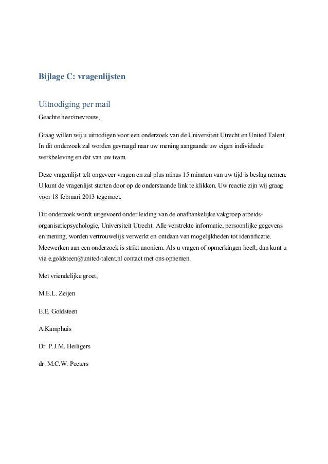 antwoord sollicitatie uitnodiging De invloed van authentiek zijn en zelfinzicht op de teamprestatie, Go… antwoord sollicitatie uitnodiging