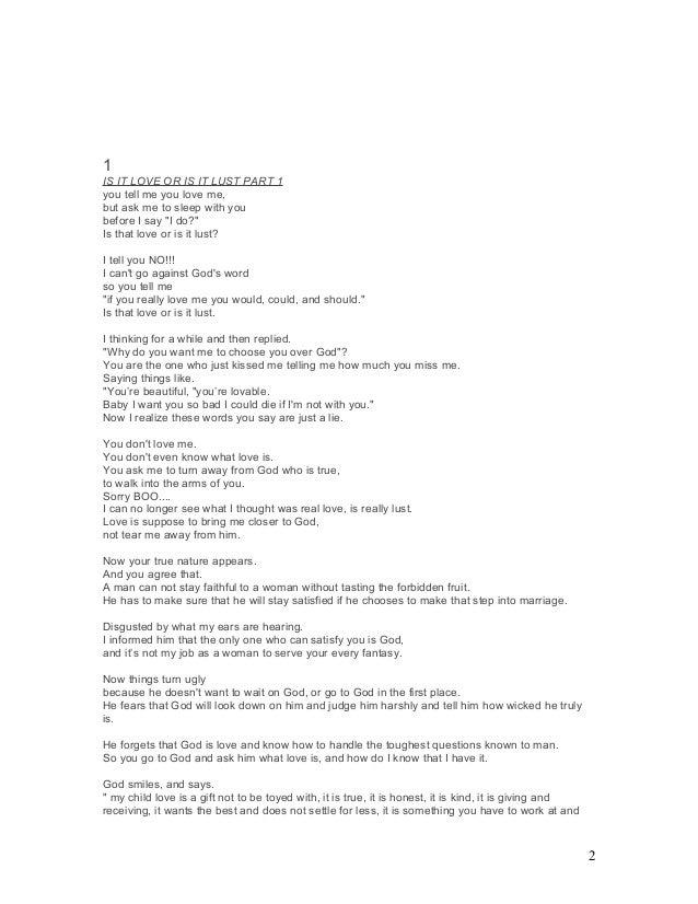 Sex Fantasy Poems For Him 1