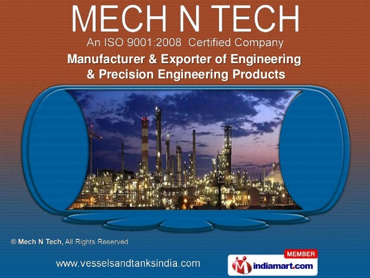 Manufacturer & Exporter of Engineering  & Precision Engineering Products