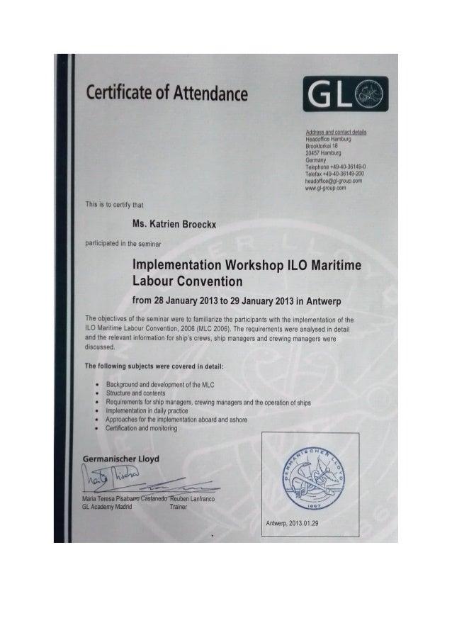 Certificaten Katrien Broeckx