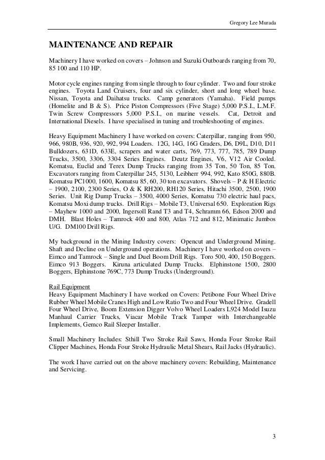 sample resume 2015