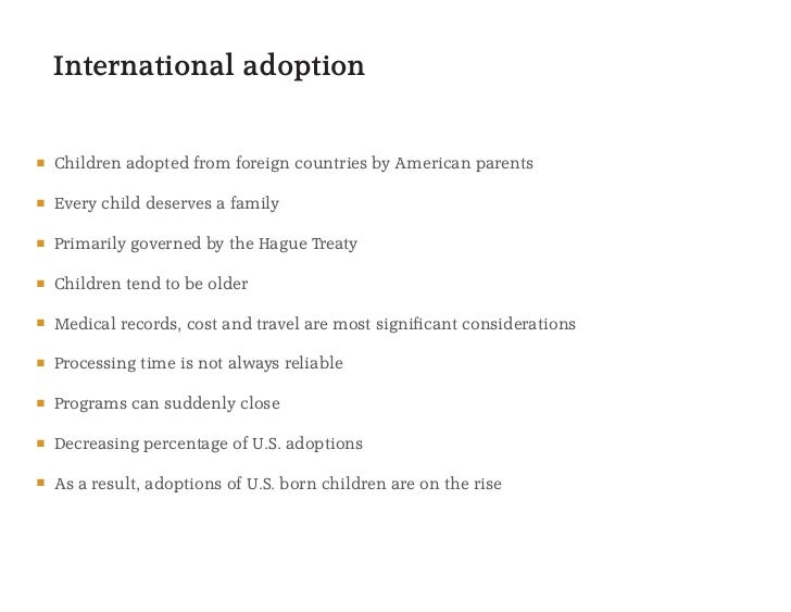 An overview of close adoption and open adoption and its legal process
