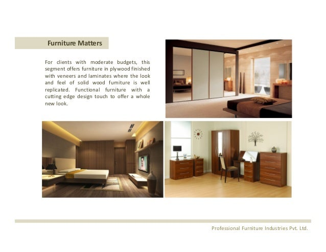 Furniture Matters For Clients With Moderate ...