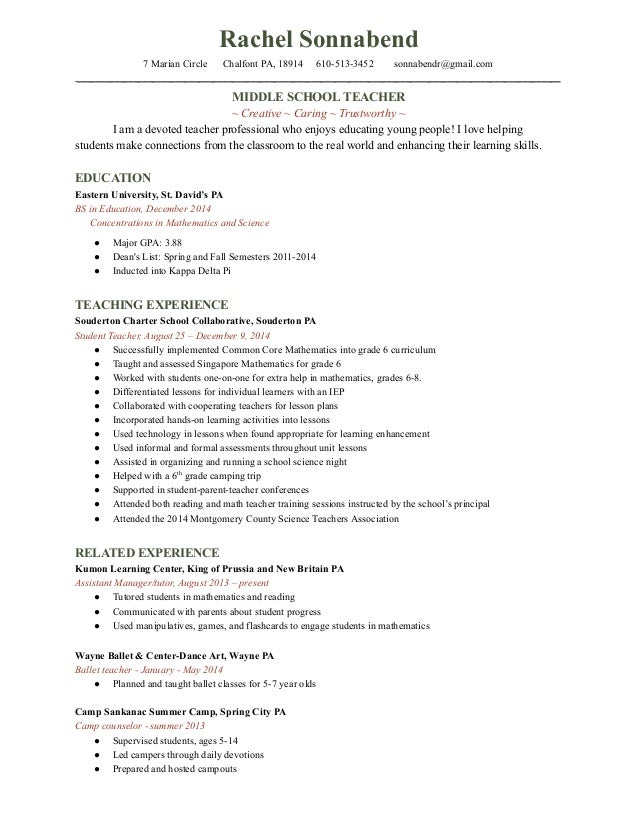 Camp Counselor Cover Letter. Cover Letter For Proposal Grant ...