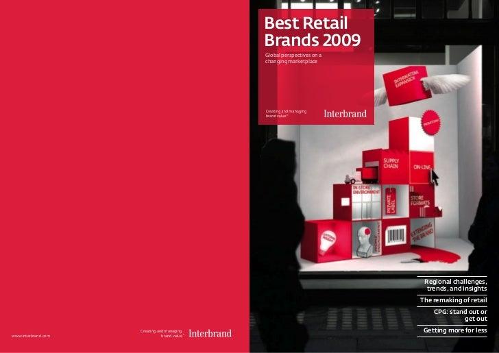 Best Retail                                                Brands 2009                                                Glob...