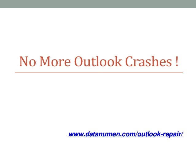 7 Ways to Fix Outlook Crashes!