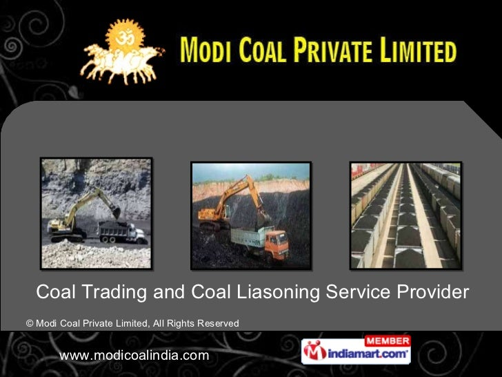 Coal Trading and Coal Liasoning Service Provider