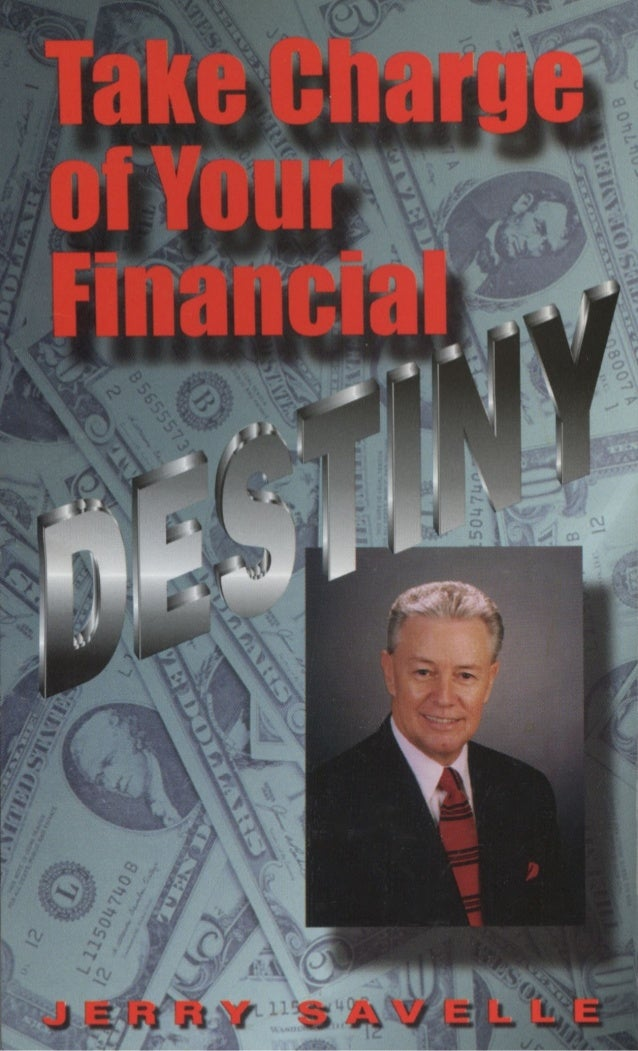 86228632 Take Charge Of Your Financial Destiny Jerry Savelle
