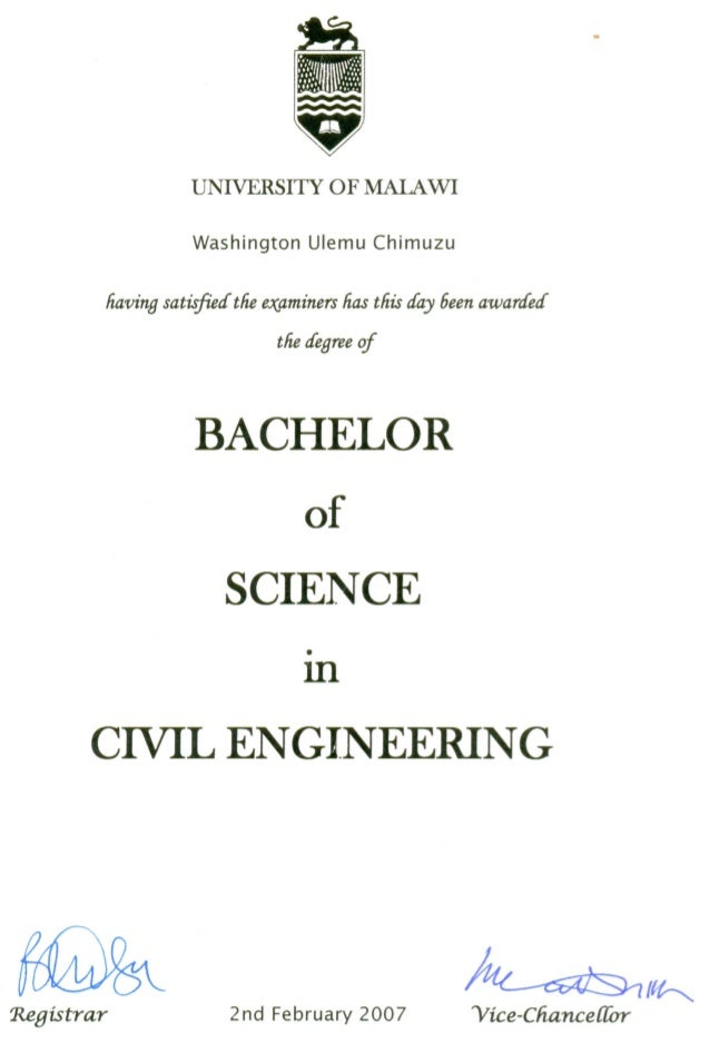 Bsc civil engineering dissertation