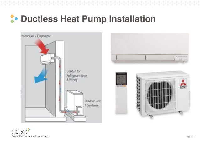 Webinar Air Source Heat Pumps Cold Climate Ready