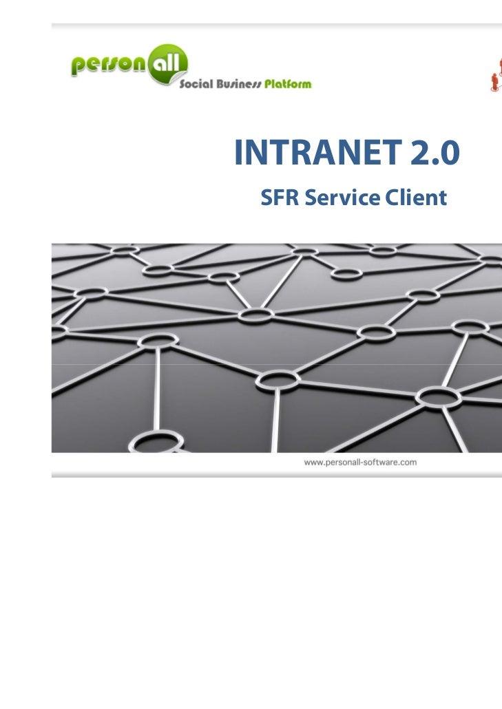 INTRANET 2.0 SFR Service Client