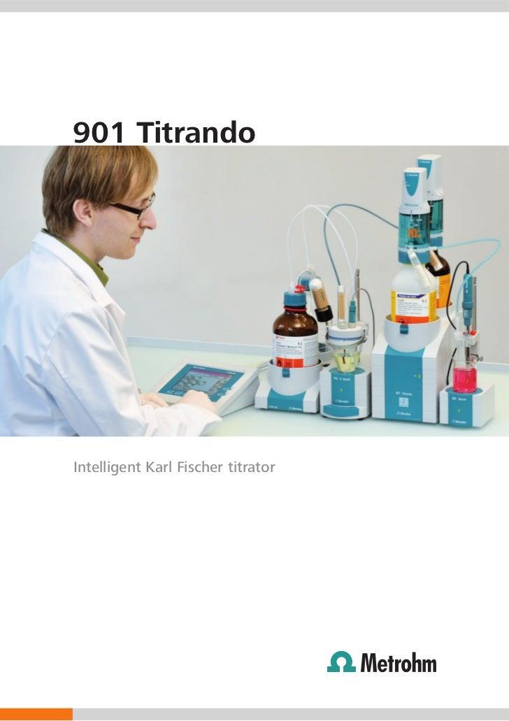 901 TitrandoIntelligent Karl Fischer titrator