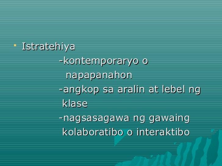 asignaturang filipino Para sa kaniya, hindi dapat limitado sa literatura at humanities ang asignaturang  filipino dapat ginagamit na rin ito para sa mga intellectual.