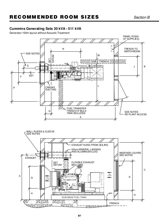 86548526 Installation For Generator Set