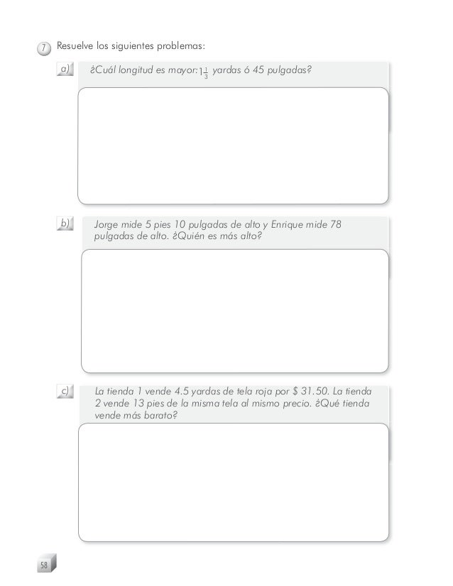 Matematicas 5o Grado Cuaderno De Ejercicios