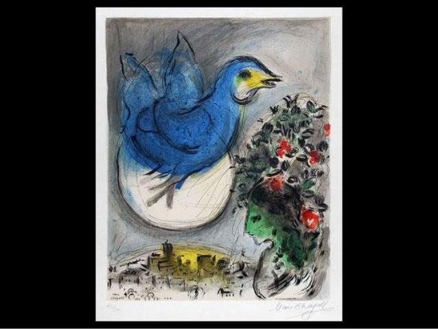 867 - Chagall-revolving love Slide 2