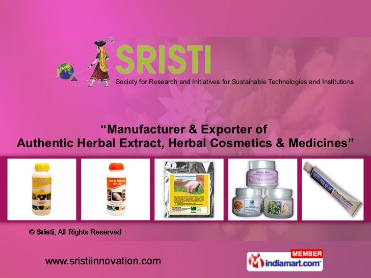 """Society for Research and Initiatives for Sustainable Technologies and Institutions """" Manufacturer & Exporter of  Authentic..."""